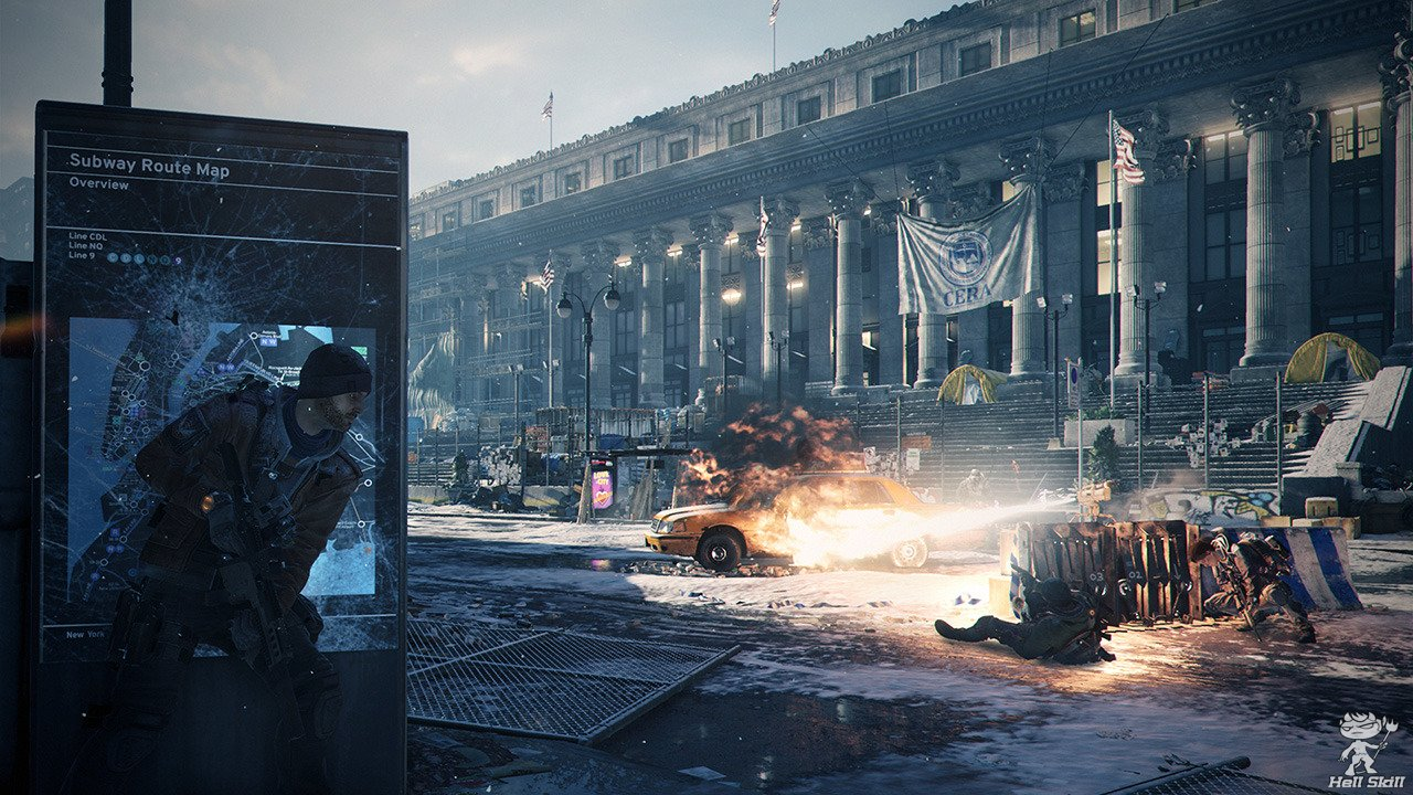 Tom Clancy's The Division выйдет в 2016
